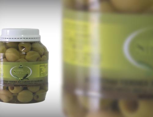 Aceitunas verdes descarozadas por 500 grs, 1 kg. Y 2 kgs.